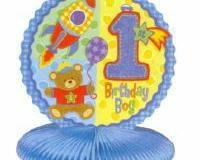 1st birthday honeycomb centrpiece 25cm