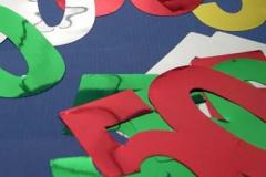 50th foil cutouts 10cm
