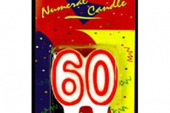 60th red candle