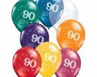 90th Around Jewel Assorted Latex
