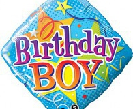 Birthday Boy 45 cm foil balloon