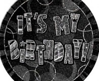 Its My Birthday black badge
