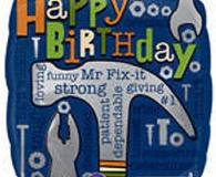 Mr Fix It 45 cm foil balloon u21967
