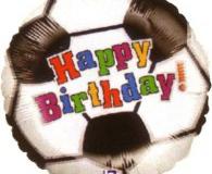 Soccer ball 45cm foil balloon h86280
