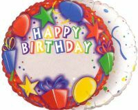 Add a name birthday 45cm foil