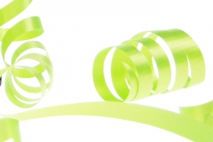 Lime green 31mm poly ribbon