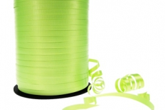 Lime green 5mm curling ribbon