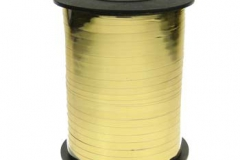Metallic gold 5mm curling ribbon