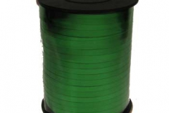 Metallic green 5 mm curling ribbon