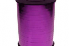 Metallic hot pink 5mm curling ribbon