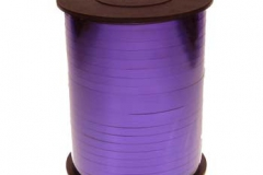 Metallic purple 5mm curling ribbon