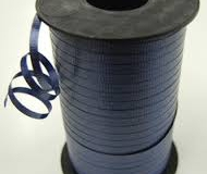 Navy blue 5 mm curling ribbonjpg