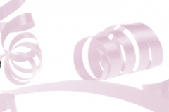 Pale pink 31mm poly ribbon