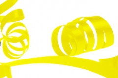Yellow 31mm poly ribbon