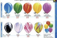 Balloon Super Agate Qualatex colours
