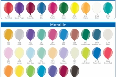 Balloon colours Z & S