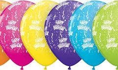 Birthday print assorted coloured balloons jpg