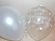 Clear balloon anniversary printjpg