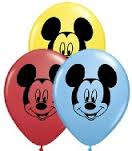 Mickey Mouse print balloons