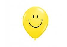 Smiley print balloons