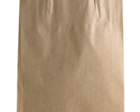 BB265mm (High) x 160mm (Wide) + 50mm (Gusset) These feature a Paper handle and are packed in units of 500 per carton