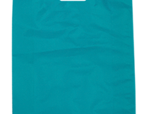 Plastic HDPE Bag 530mm (H) x 415mm (W) Packed in units of 500 per carton in the Carnival Colour Beach Blue