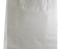 W1 350mm (High) x 260mm (Wide) + 90mm (Gusset) These feature a Paper handle and are packed in units of 250 per carton