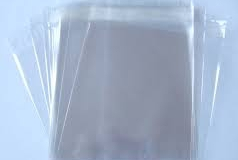 Large self seal cello bags available