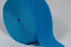 Streamer paper blue pkt 4