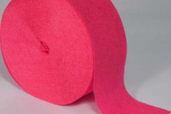streamer paper hot pink pkt 4