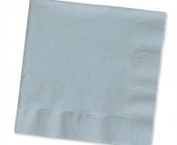 Shiny Silver 2 ply lunch napkins