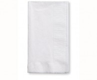 Silver 2 ply dinner napkins