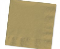 Shimmering gold 2 ply lunch napkins