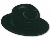 Gangster black hat
