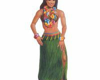 Cutout Jointed Hula Girl 137cm Cardboard - Each