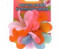 Flower Ponytail Holder - Multi Colour
