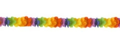 Garland Luau Rainbow Flower 270cm - Each