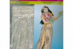 Luau Hula Skirt - Natural (78.7cm Long) - Each
