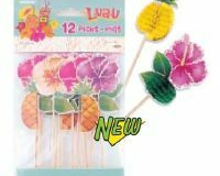 Picks Island Luau Honeycomb - Pack of 12