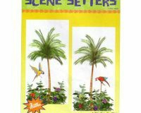 Scene Setter Cutout Palm Trees (2 x 85cm x 165cm) - Pack of 2