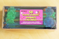 Stirrers Ocean Animals. (16.5cm) - Pack of 50