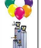 Helium cylinders and balloons