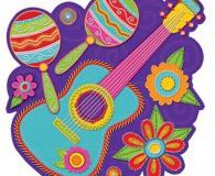 Mexican banjo cutout