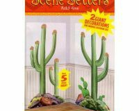 Scene Setter Cutout Cactus (85cm x165cm) - Pack of 2