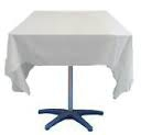 Square tablecloth for hire