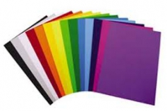 Assorted coloured serviettes