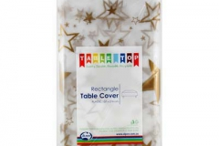 Gold star rectangle tablecloth Alpen