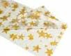 Gold star rectangle tablecloth