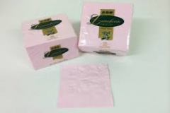 Light pink dinner and lunch napkins jpg