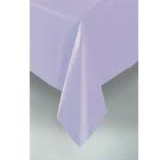 Lilac rectangle tablecloth